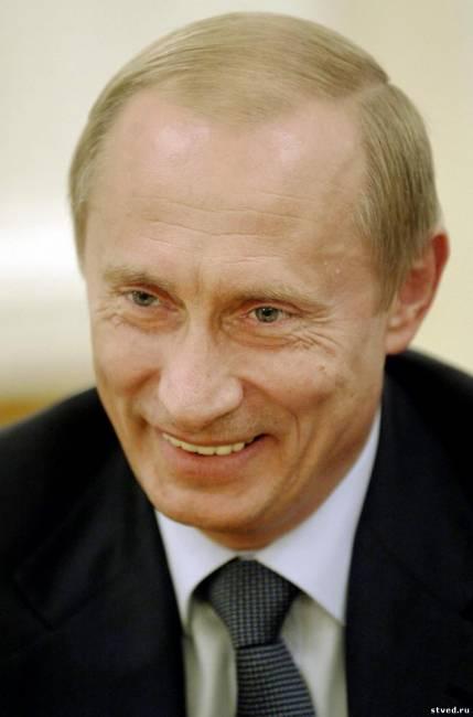Красивый качественный портрет путин